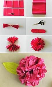 Blumen Aus Seidenpapier : blumenstrau basteln ~ Orissabook.com Haus und Dekorationen