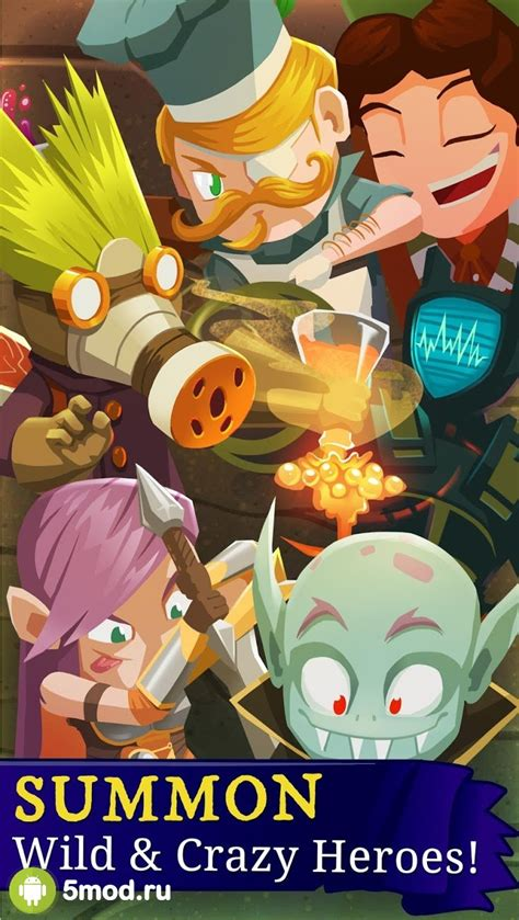 El juego cuenta con un juego de rpg de acción de desplazamiento lateral de hack & slash, toneladas de botín para descubrir, con cientos de etapas para jugar y una arena de pvp para luchar contra otros jugadores por el dominio. Everclicker Endless RPG Mod APK 2021 para Android - nueva versión