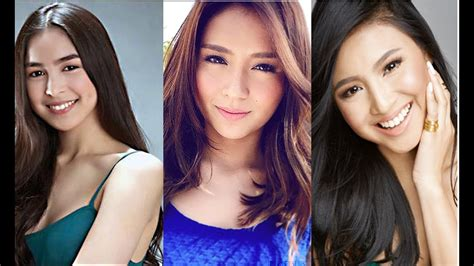 Top 10 Sexiest Teen Stars In The Philippines 2016 Youtube
