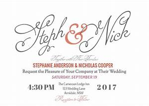 how to create your modern wedding invitation online with With wedding invitations google docs