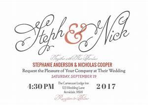 how to create your modern wedding invitation online with With wedding invitations templates for google docs