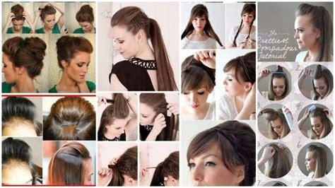step  step puff hairstyle tutorials simple craft ideas