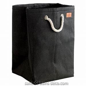 Sac à Linge Sale : sac linge sale design manhattan noir zone ~ Dailycaller-alerts.com Idées de Décoration