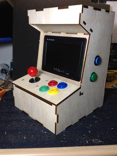 Build Arcade Cabinet Raspberry Pi porta pi build your own mini arcade cabinet using a