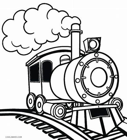 Train Drawing Clipart Passenger Station Simple Clipartmag