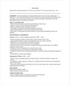 resume of painting artist painters resume template 6 free word pdf documents free premium templates