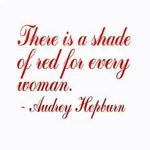 Lady in Red | Q... Cherry Red Summer Quotes