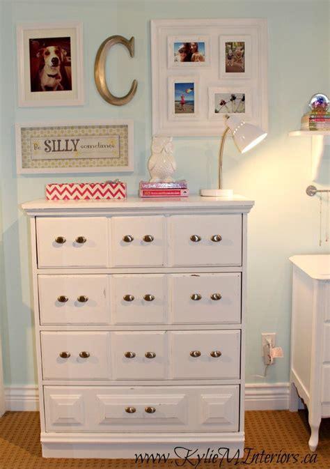 girls bedroom decorating ideas   white dresser