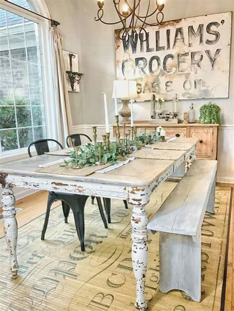 farmhouse style on a budget amazing farmhouse furniture 25 calmness dining room with farmhouse style and vintage