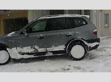 BMW X3 E83 20d Exterieur Interieur engine sound YouTube