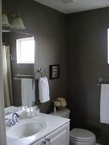 Bathrooms painted gray homes decoration tips for Grey painted bathrooms