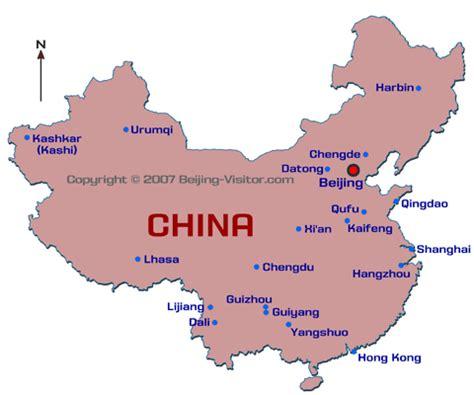 map  china cities china cities map beijing visitor