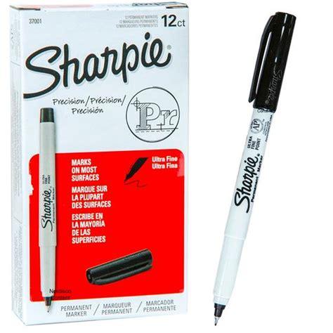 Sharpie Ultra Fine Point 37001 Black Permanent Marker   Nordisco.com
