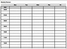 These Time Blocking Free Printable Planners Will Help You