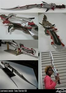 Lightnings gunblade -complete by fevereon on DeviantArt