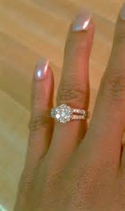 my engagement ring is small my wedding ring weddingbee photo gallery