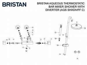 Bristan Aqueous Thermostatic Bar Mixer Shower With
