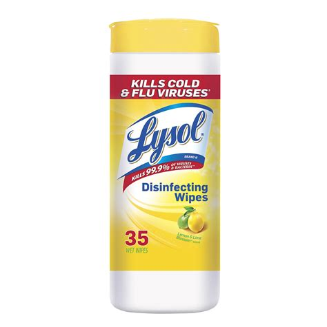 Lysol Disinfecting Wipes, 4 In 1, Citrus Scent, 35 wipes