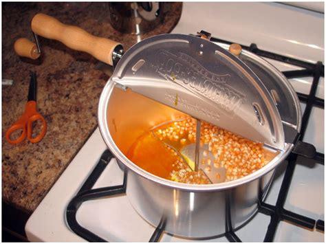 popcorn whirley pop popper oil avoision