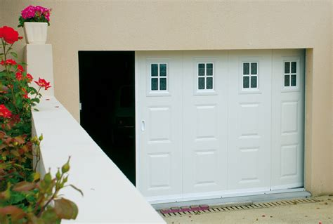 porte de garage fame portes de garage coulissantes lat 233 rales fame le fenestron