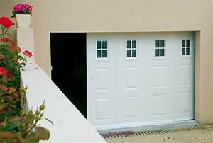 portes de garage coulissantes laterales fame le fenestron With fame porte de garage