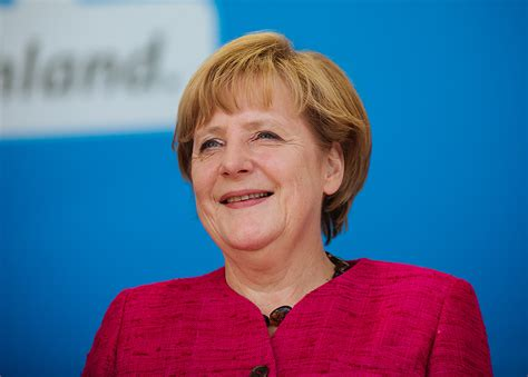 From 2000 to 2018 she was also the leader of the german christian democratic union (cdu). Angela Merkel nog steeds razend populair in Israël - Jonet.nl
