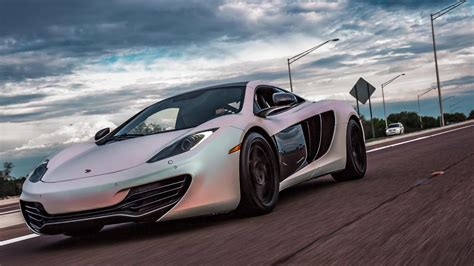 Mp4 12c 0 60 by Pearl White Mclaren Mp4 12c Launch Mode 0 60 2 9 Sec