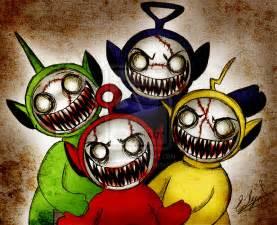 Creepy Zombie Teletubbies