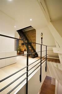 Main Courante Escalier Intérieur : garde corps design en acier main courante et 4 lisses en ~ Edinachiropracticcenter.com Idées de Décoration