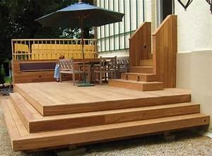 Holzterrasse Welches Holz : fundament fur holzterrasse kreative ideen f r innendekoration und wohndesign ~ Sanjose-hotels-ca.com Haus und Dekorationen