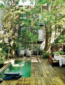 Mini Pool Terrasse : 20 lovely backyard ideas with narrow space home design ~ Michelbontemps.com Haus und Dekorationen
