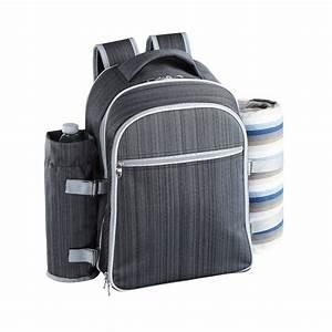 Panier Picnic Isotherme : sac dos sp cial picnic avec poche isotherme pour 4 personnes ~ Teatrodelosmanantiales.com Idées de Décoration