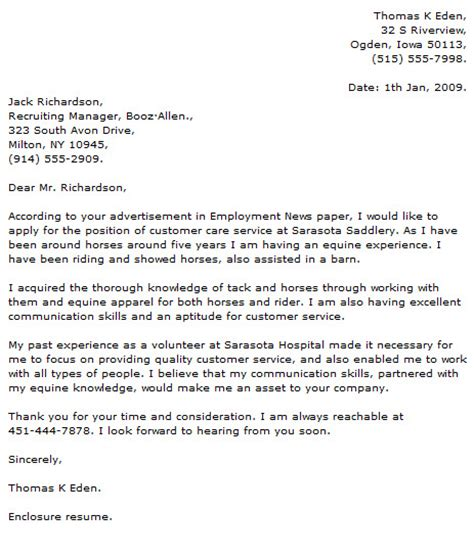 Provided Excellent Customer Service Resume by Volunteer Customer Service Cover Letter