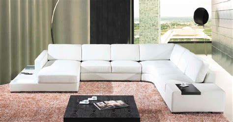 deco in canape cuir d angle blanc avec meridienne java can pano anglegauche java pu blanc