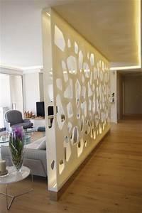 Cloison Séparation Pièce : cloison murale s paration en r sine de synth se ~ Premium-room.com Idées de Décoration