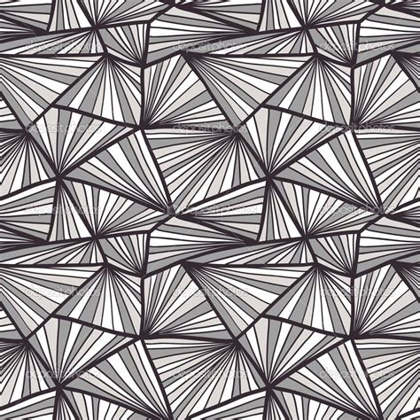 Abstract Easy Black And White by Seamless Geometric Pattern Abstract Black And White