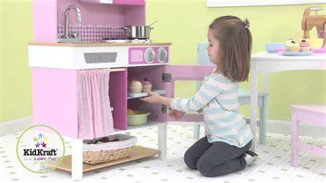 cuisine en bois jouet kidkraft cuisine pour enfant en bois kidkraft