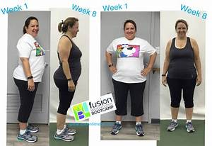 Weight Loss Boot Camp Results - Congrats!