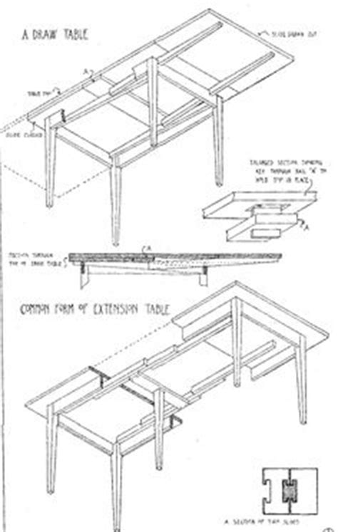 woodwork diy extendable dining table plans  plans