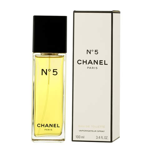 chanel no 5 eau de toilette 100 ml no 5 chanel