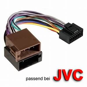 Car Radio Adapter Cable Jack For Jvc Din Iso 16 Pin Cable