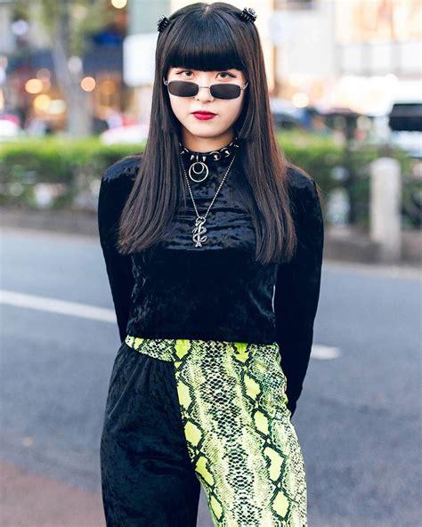 Tokyo Fashion: 16-year-old Japanese student Mai (@datenshi ...