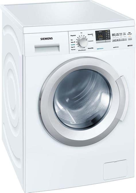 siege siemens siemens wm14q3g1 test frontlader waschmaschine