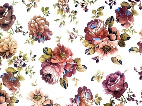 Vintage Floral Texture Background Icons PNG - Free PNG and ...