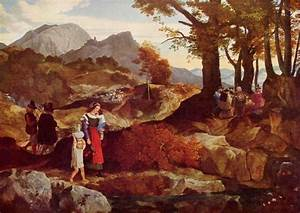 Berühmte Kunstwerke Der Romantik : carl philipp fohr romantische landschaft in italien ~ One.caynefoto.club Haus und Dekorationen
