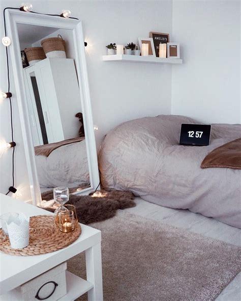 pinterest attrinitie dorm room ideas  girls minimalist cozy neutrals college dorm