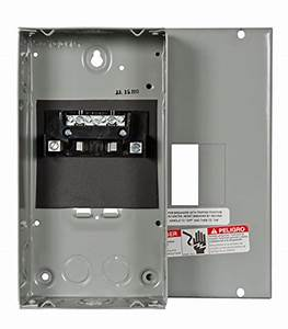 Murray Lc002gsu Load Center  2 Space  4 Circuit  60a Main Lug  Indoor  Surface Mount