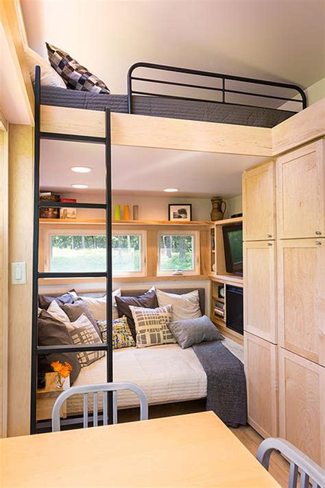 tiny home   trailer  styled  famous