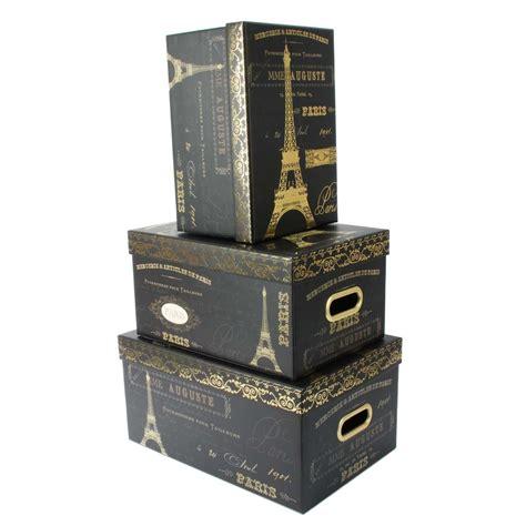 Tricoastal Design Set Of 3 Nesting Storage Box Steamer