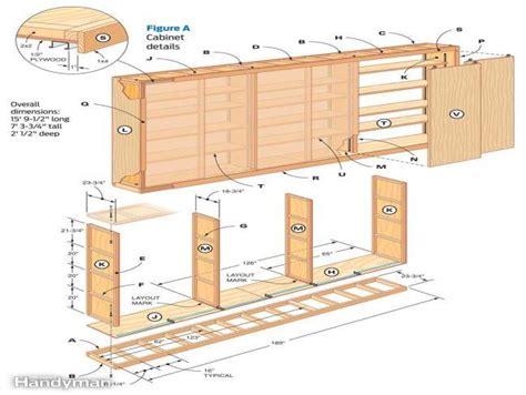 free garage storage cabinet plans build garage cabinets plans roselawnlutheran